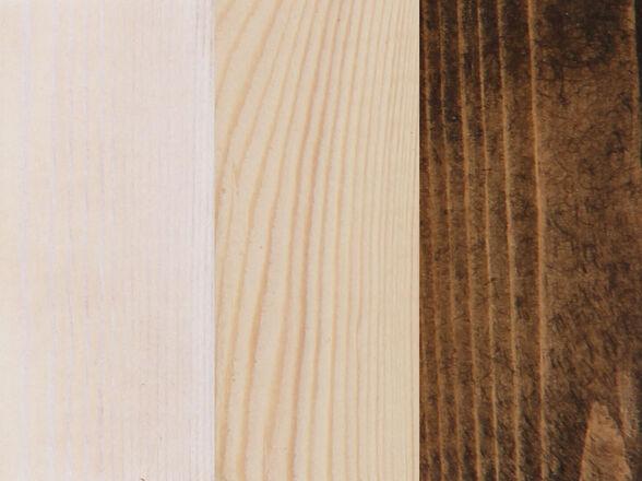 מיטה מעוצבת מעץ אורן מלא + מזרן קפיצים מתנה דגם 5008 _190*120-מולבן, , large image number null
