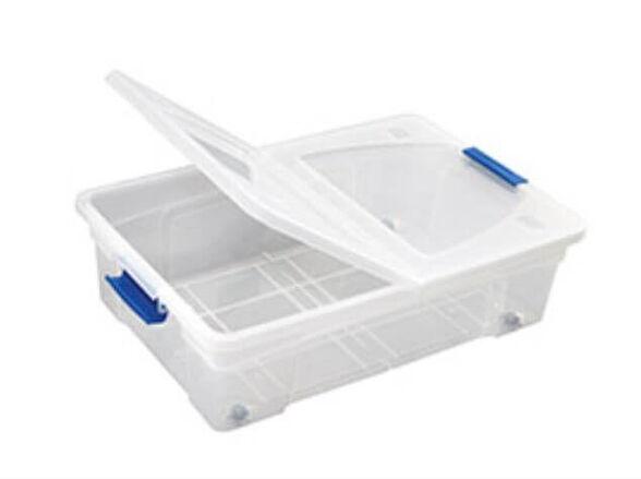ארגז אחסון 30 ליטר מתחת למיטה על גלגלים S-free | יחידות נוספות במחיר מוזל, , large image number null