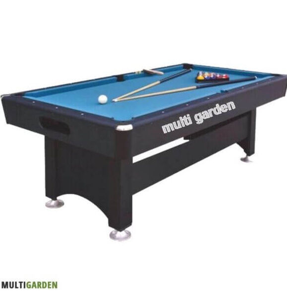 """שולחן סנוקר מקצועי דגם """"סידני"""" כולל סט כדורים זוג מקלות ו2 גירים, , large image number null"""