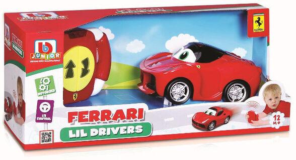 מכונית פרארי + שלט לנהג המתחיל BURAGO, , large image number null