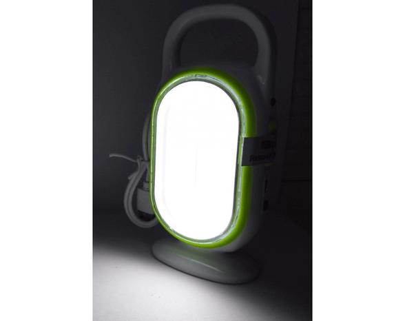 """תאורת חירום לד מעניק תאורה חזקה בעוצמה של 10W, סוללה נטענת ע""""י חיבור USB - מעניק תאורה חזקה בעוצמה של 10W   יח' נוספת במחיר מוזל, , large image number null"""
