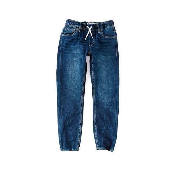 ג'ינס ליוויס Boys Skinny Taper Fit Dobby Pull-On Pant לילדים ונוער, , large image number null