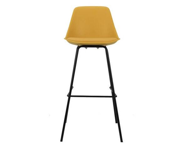 כיסא בר בעיצוב מודרני דגם 759B מבית TAKE IT_חרדל, , large image number null