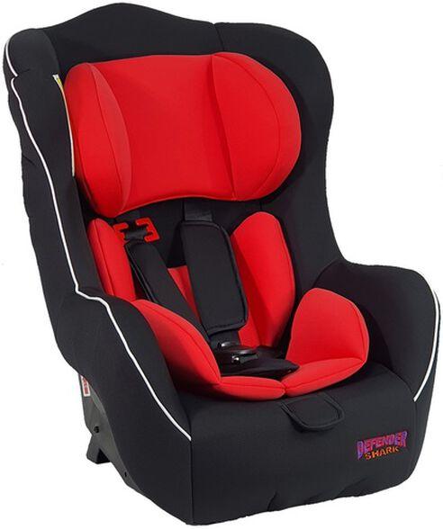 כסא בטיחות מגיל שנה ועד גיל 3 דגם Shark - אדום, , large image number null