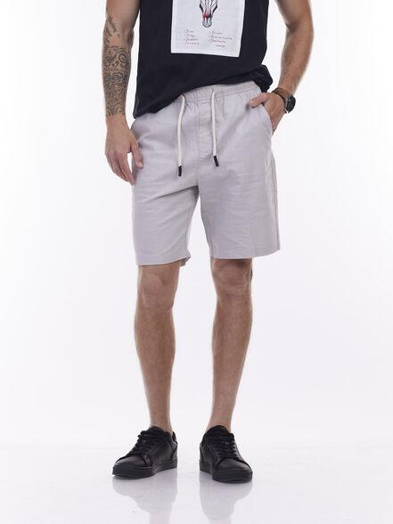 מכנסיים קיציים עם גומי, , large image number null