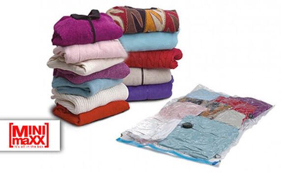 10 שקיות וואקום עם שסתום לשואב לאחסון בגדים - מבית MiniMaxx , עם 7 שנות אחריות!!, , large image number null