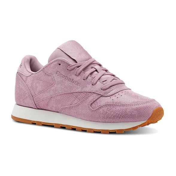נעלי ריבוק Classic Leather נשים ורוד סגול מידה 36, , large image number null