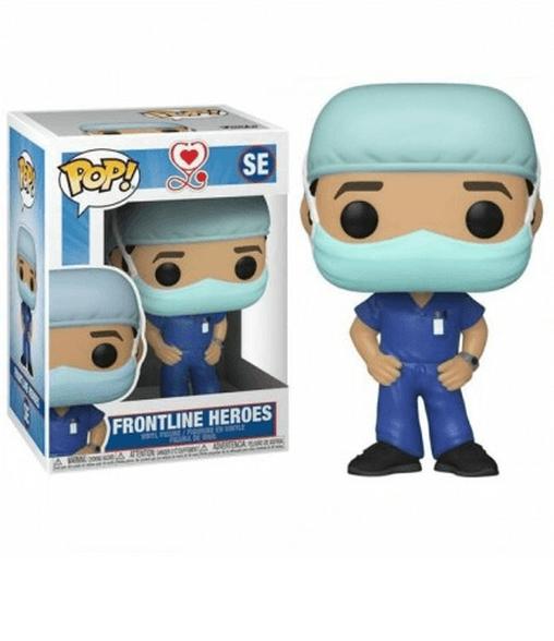 פופ קורונה רופא בחליפה כחולה Funko POP, , large image number null