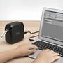 מדפסת מדבקות אלחוטית להדפסת ברקודים דגם PTP710BTXG1 מבית BROTHER מדפיסה באורך מדבקה של עד 500 מ''מ המתאימה ל-PC ול-MAC באמצעות חיבור USB ולטלפונים ניידים וטאבלטים באמצעות Bluetooth.