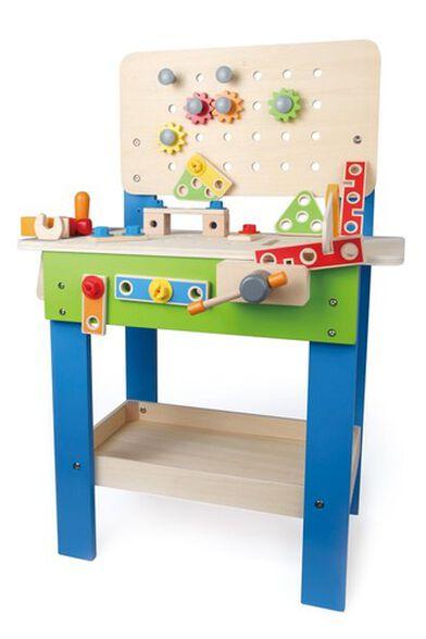 שולחן עבודה מעץ עם איבזור מלא 35 חלקים, , large image number null