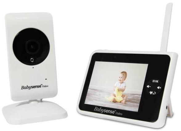 אינטרקום HD דו כיווני לתינוק עם מצלמה ומסך גדול במיוחד Babysense V35, , large image number null