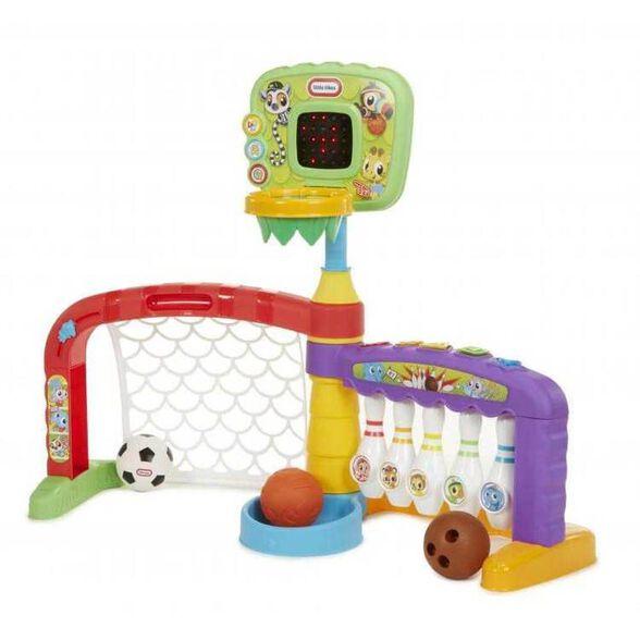 Little Tikes מתקן ספורט אלקטרוני לפעוטות הכולל 3 משחקי ספורט במתקן אחד1, , large image number null
