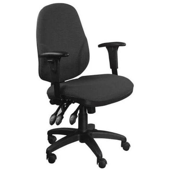כסא משרדי ארגונימי 3 דוושות לישיבה ממושכת מבית גרפיטי, , large image number null