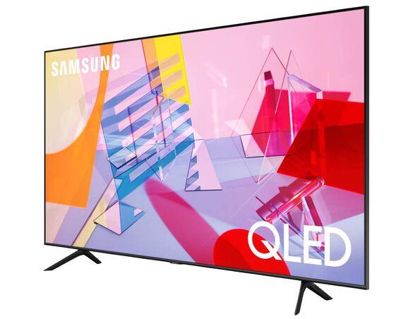 """טלויזיה 65"""" Smart 4K QLED מהסדרה החדשה - אינדקס איכות תמונה 3100 PQI טיונר עידן פלוס ואינטרנט אלחוטי מובנה מבית SAMSUNG דגם QE65Q60T   כולל התקנה ומתקן קיר חינם, , large image number null"""