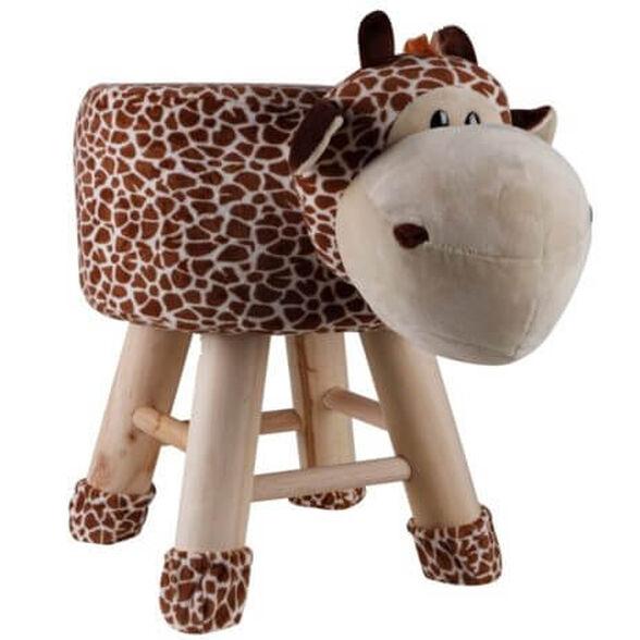"""שרפרף דקורטיבי לילדים בעיצוב מדליקים של פרה / פיל / אריה   מחזיק עד 80 ק""""ג   יחידה שנייה בהנחה נוספת_פרה, , large image number null"""