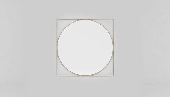 מראת קיר מעוצבת בעלת מסגרת מתכת דגם קובנטרי מבית RAZCO_מראה בשילוב מסגרת מתכת מוזהבת, , large image number null