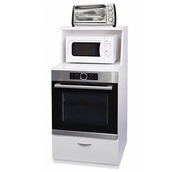 ארונית ניידת משולבת מתאימה לתנור/מיקרוגל/טוסטר, , large image number null