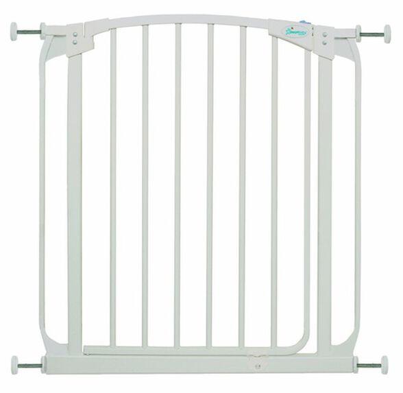 F160 - שער בטיחות עם דלת סגירה אוטומטית לדלתות ופתחים ללא קדיחה, , large image number null