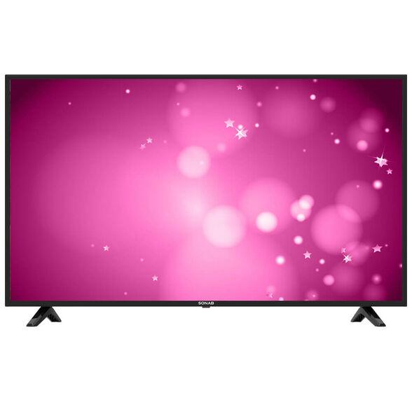 """טלויזיה 50"""" Smart 4K מערכת הפעלה Android 7 ו - WIFI כולל גישה  לאפליציקיות נטפליקס ויוטיוב  מבית SONOB דגם 50S3000 , , large image number null"""