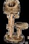 מתקן גירוד גדול לחתול מעץ טבעי מבית PETEX