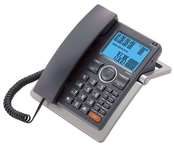 טלפון שולחני עם צג רחב ושיחה מזוהה Alcom GCE-5933 , , large image number null