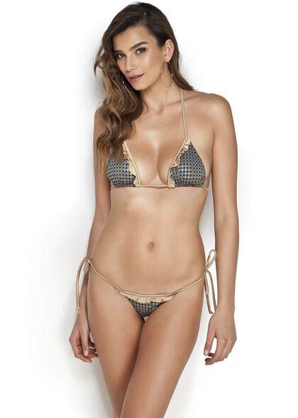 """בגד ים ביקיני משולשים מהמותג הקולומביאני """"Mapale"""" דגם 674080 במבחר מידות, , large image number null"""