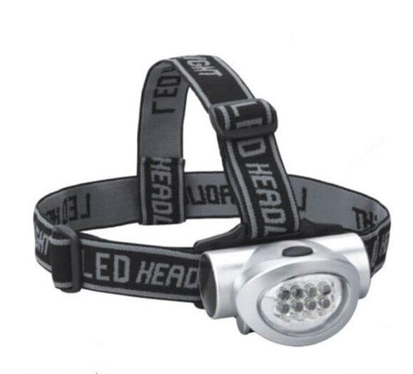 פנס ראש 8 נורות LED - שתי מצבי תאורה, , large image number null