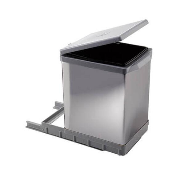 פח אשפה למטבח נשלף 17 ליטר תוצרת ELLETIPI איטליה, , large image number null