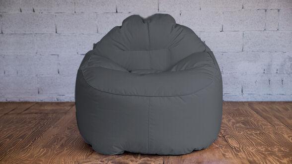 דושיפוף כורסא עגולה exclusive אפור , המתאימה לפנים וחוץ הבית ומותאמת לתנאי אקלים חיצוניים מבית MILEGA, , large image number null