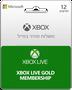 מנוי לשירות XBOX Live GOLD עבור 12חודשים