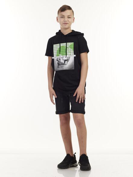 חולצת טי גולגולת קפוצ'ון, , large image number null