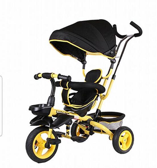 תלת אופן לילדים - אינפנטי infanyi_שחור צהוב, , large image number null