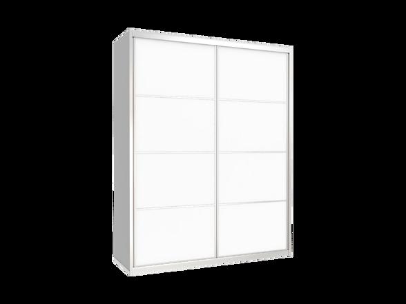 ארון הזזה 2 דלתות דגם TC דלתות מלמין במבחר צבעים ניתן לשדרג לרוחב עד 200 ס''מ, , large image number null