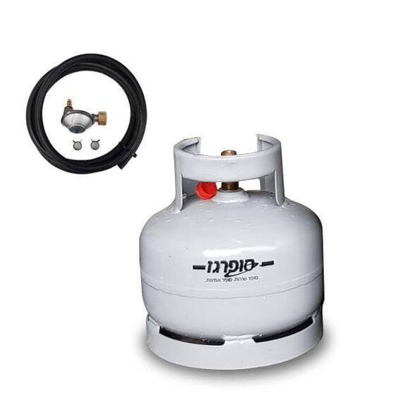 בלון גז רב פעמי למנגל 2.5 קילו + ערכת חיבור למנגל בונפיל | משלוח חינם ומהיר עד לבית הלקוח, , large image number null