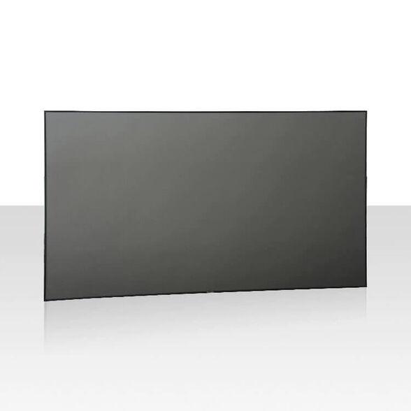 מסך מקרן קבוע טווח קצר בגודל 120 אינץ' התומך ב-4K UHD ו-תלת מימד 3D דגם ZHK120B-PET מבית XYscreens , , large image number null