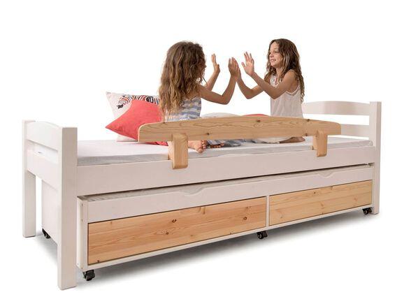 מיטה מושלמת דגם יהלי בעיצוב קלאסי עם ידיות אינטגרליות | עשויה עץ מלא בלבד ! , , large image number null