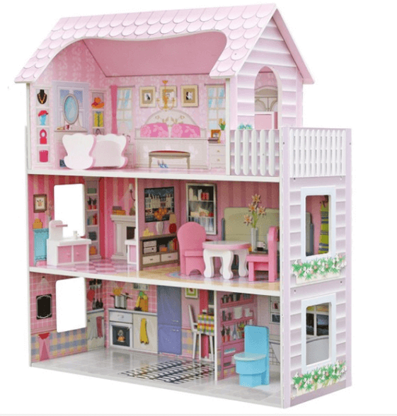 בית בובות לילדים   3 קומות כולל ריהוט   דגם ענת, , large image number null