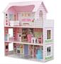 בית בובות לילדים   3 קומות כולל ריהוט   דגם ענת