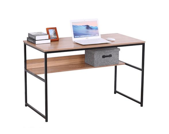 שולחן עבודה מעוצב כולל מדף תחתון מבית TAKE IT, , large image number null
