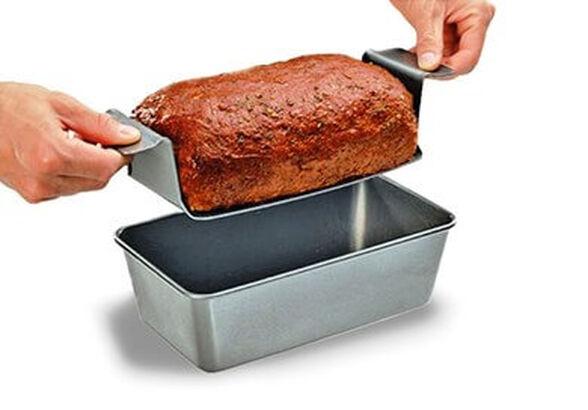 אוהבי בשר?! תבנית לבשר PERFECT MEATLOAF הדרך החדשה להכין, לאפות ולהגיש את קציץ הבשר האהוב, , large image number null