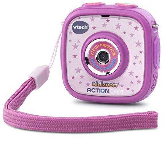 מצלמת וידיאו אקשן לילדים KIDIZOOM ACTIONCAM - סגול, , large image number null