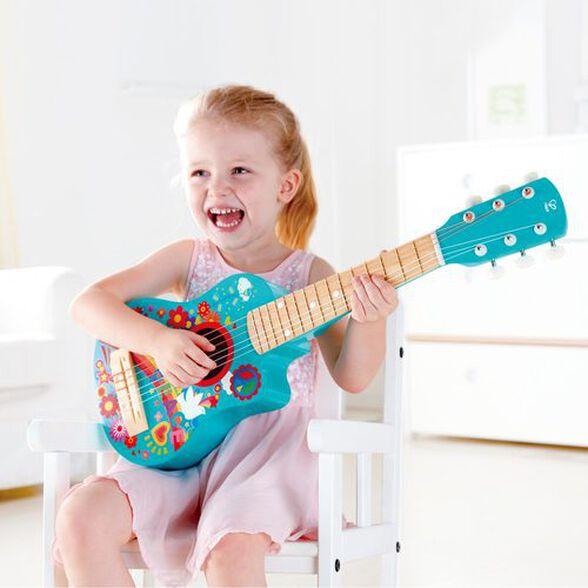 גיטרה לילדים 'ילדי הפרחים', , large image number null