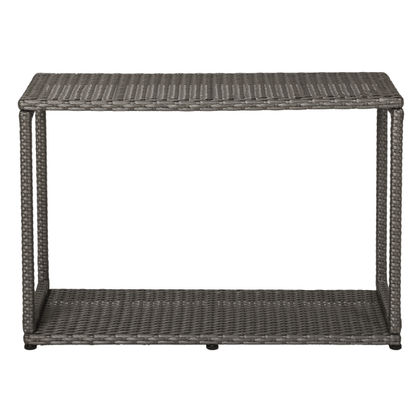 ארון נלווה לג'קוזי מבית MSPA בעיצוב פתוח ומרובע דמוי קש המיועד לשמירה על חפצים, , large image number null