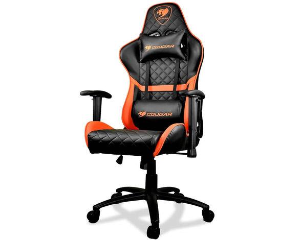כיסא גיימינג דגם COUGAR Armor Oneבצבעים שונים_כתום, , large image number null