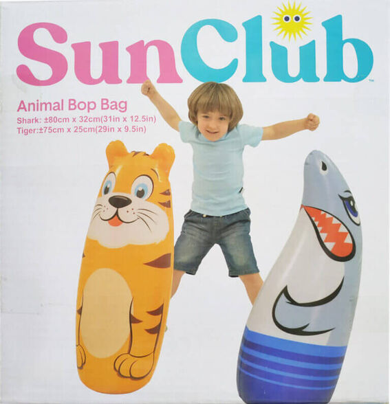 נחום תקום מתנפח בדגם כריש או נמר   Sun Club, , large image number null