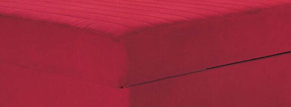 ספת ספר לאירוח ולשינה מרופדת בד איכותי כוללת ארגז מצעים וזוג כריות דגם זיו_בורדו, , large image number null