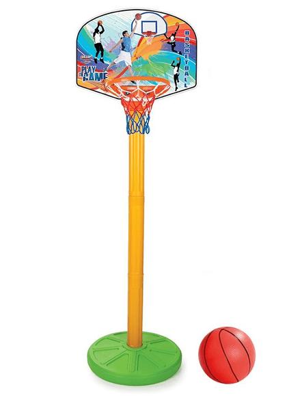 """מתקן כדורסל מפלסטיק בגובה 215 ס""""מ 03398 Pilsan, , large image number null"""