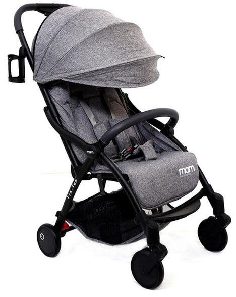 טיולון קומפקטי לתינוק עם קיפול אוטומטי טיק טק פלוס TIK TAK PLUS - אפור/שלדה שחורה/פגוש אפור כהה, , large image number null