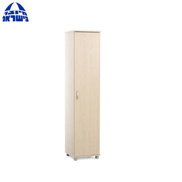 ארון דלת אחת המשמש כארון בגדים קטן או ארון שירות דגם מרים מבית רהיטי יראון תוצרת ישראל, , large image number null