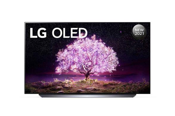 טלוויזיה 55 אינץ' בטכנולוגיית OLED ברזולוציית 4K Ultra HD עם ניגודיות אינסופיתHDR  ובינה מלאכותיתLG   דגם: OLED55C1  , , large image number null
